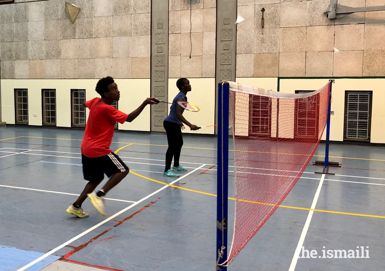 The camps introduced students to new sports, such as badminton, and raised the standards of coaching amongst teaching staff at the Aga Khan Academies.