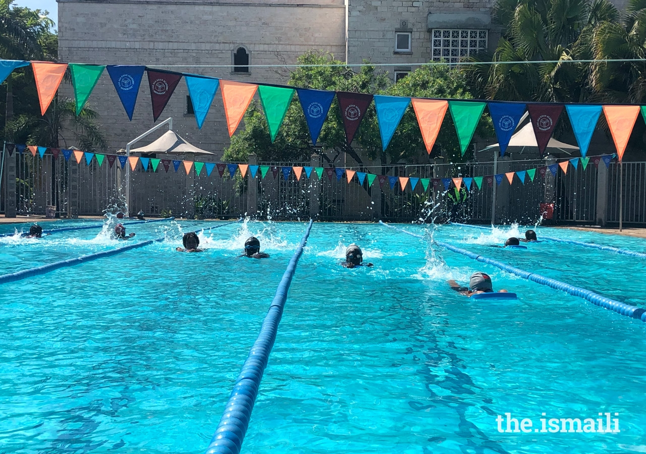The Sports Camp programme has expanded this year to include swimming training, and have increased in capacity in order to accommodate more students.