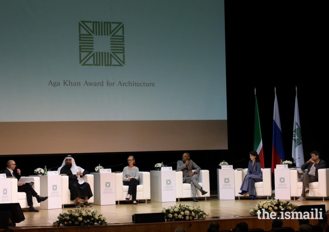 The second panel at the Aga Khan Award for Architecture 2019 Winners' Seminar.