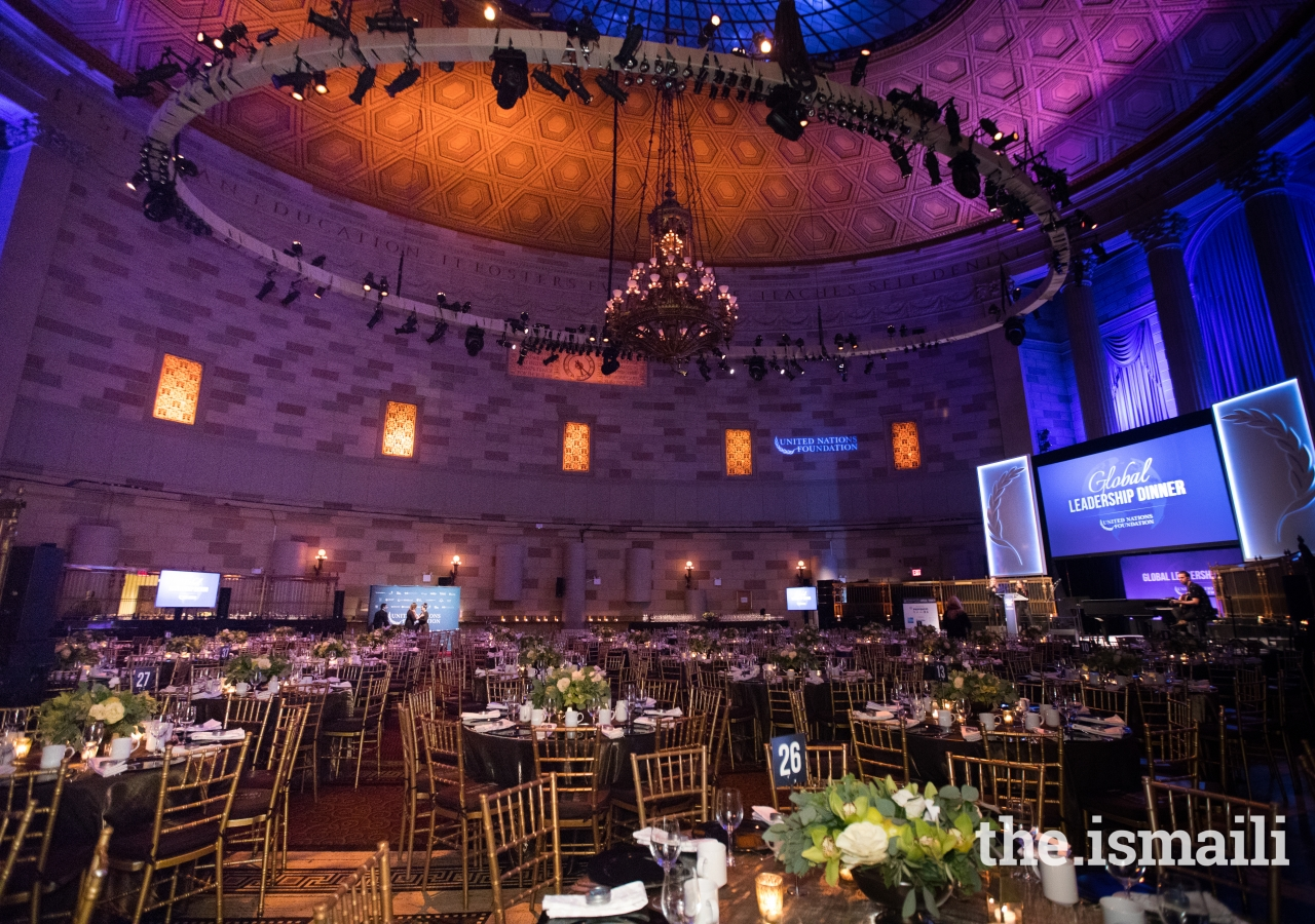 Gotham Hall, New York - the venue for the 2017 United Nations Global Leadership Dinner