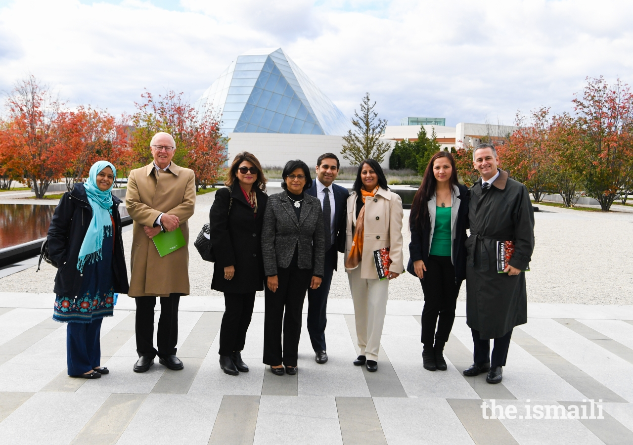 The guests were hosted at the Ismaili Centre, Toronto, by President of the Ontario Ismaili Council, Sheherazade Hirji, and volunteers. They were given a tour of the Centre and an overview of the role of the six global Ismaili Centres and the values they represent.