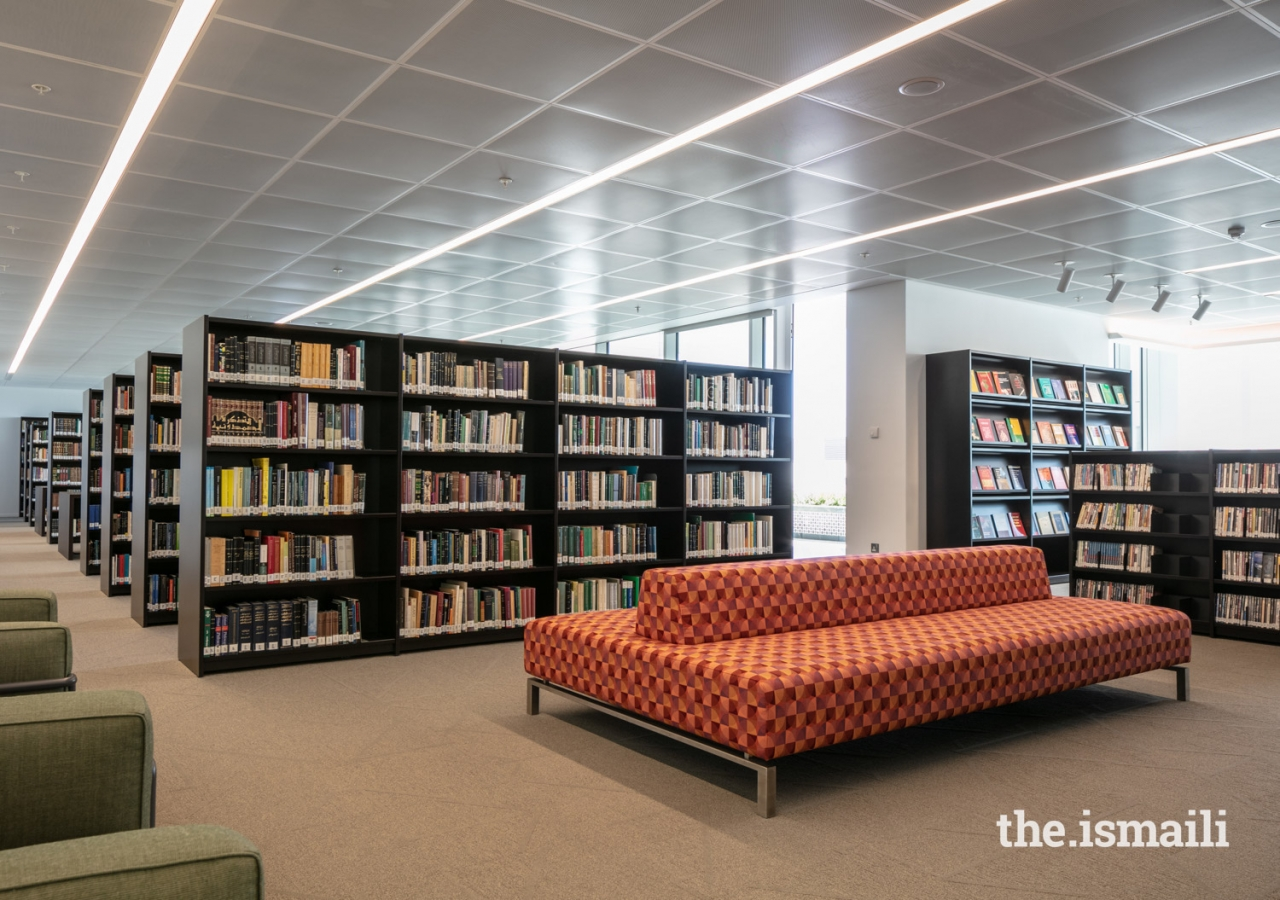 The Aga Khan Library combines the libraries of the IIS and AKU-ISMC, serving as a resource on Ismaili Studies, Muslim civilisations and the AKDN. The library will be a place for the active production of knowledge through reading, research, analysis, debate and discussion.