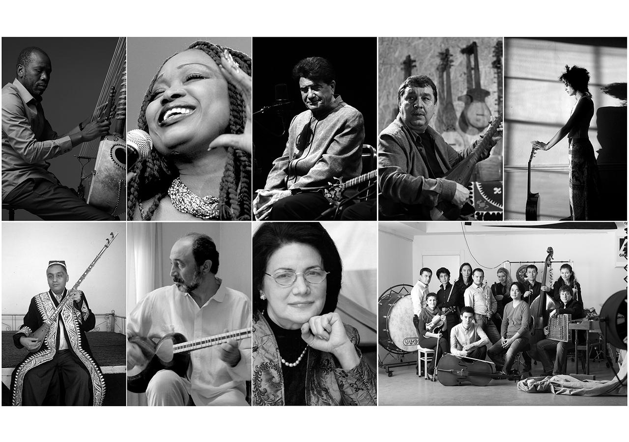 Laureates of the 2019 Aga Khan Music Awards