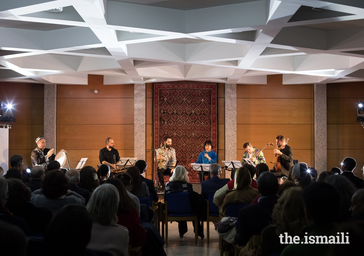 The Aga Khan Master Musicians perform at the Ismaili Centre Lisbon as part of the Christmas in Lisbon series of events.
