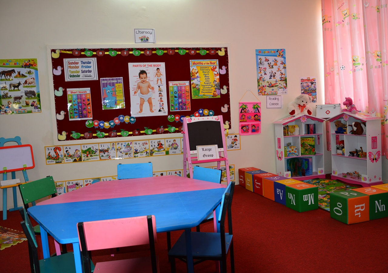 A typical Jamati classroom for early child development programmes. Ismaili Council for Uganda