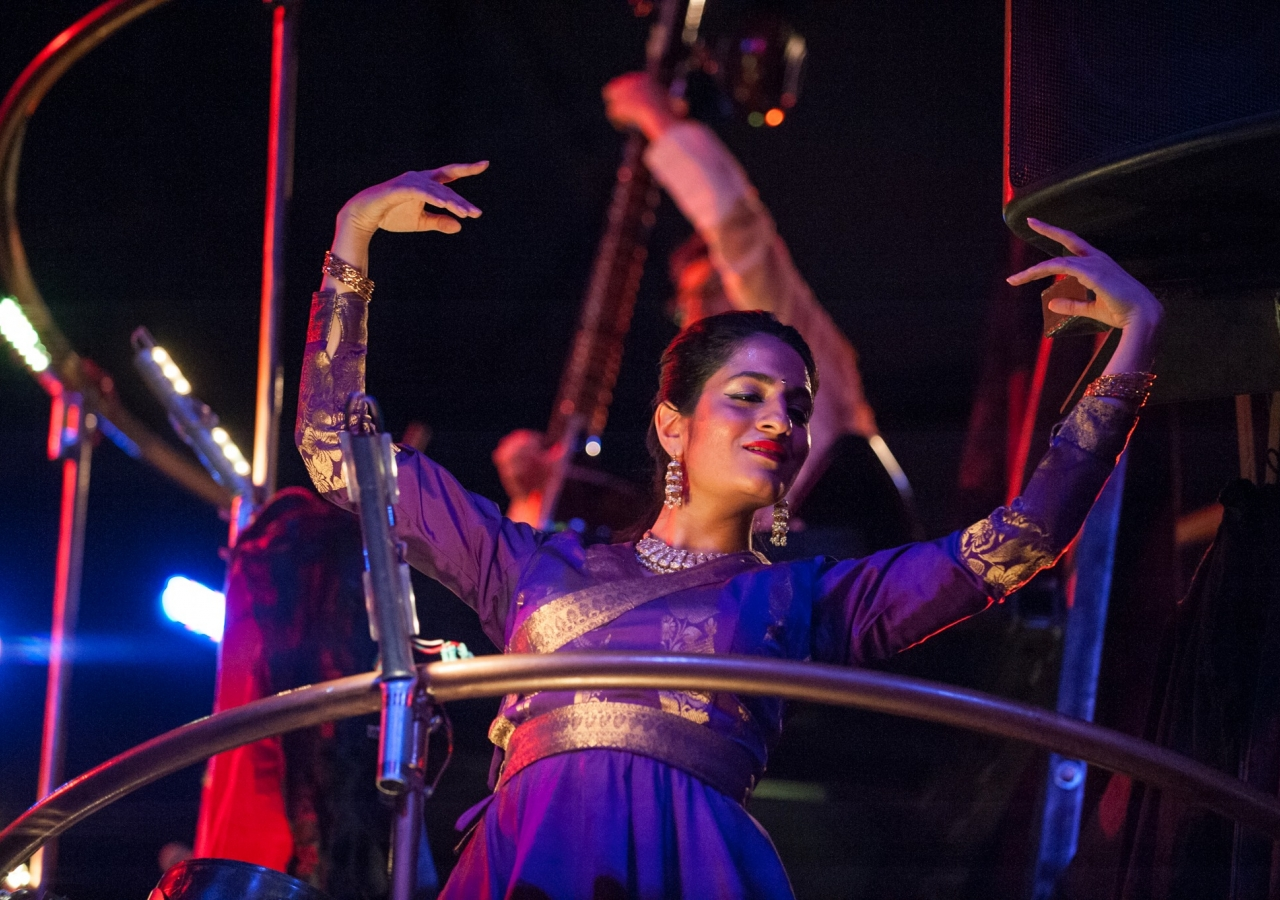 Ameera follows the beat of her heart while performing a classical Kathak dance.