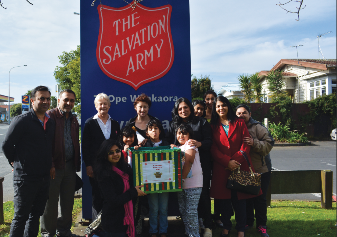 Auckland Jamat and Salvation Army