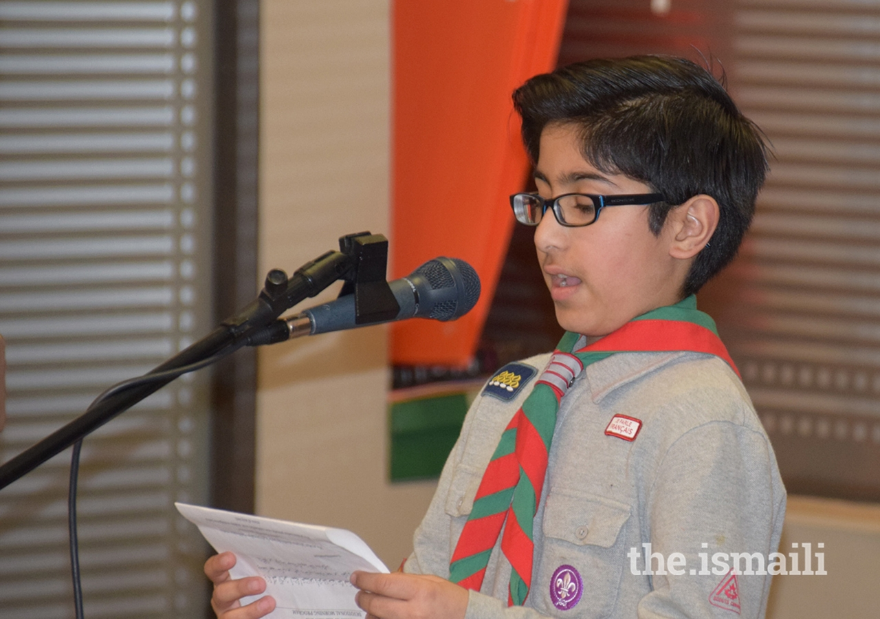 Ayaan Jeraj is a member of scouts as well as a youth volunteer.