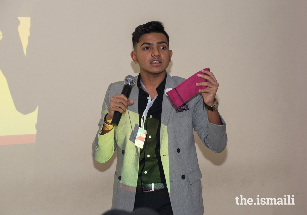Ziyaan Virij launched Affordable and Accessible Sanitation for Women (AASW) at just 17 years old, to teach both men and women the basic principles of menstruation.