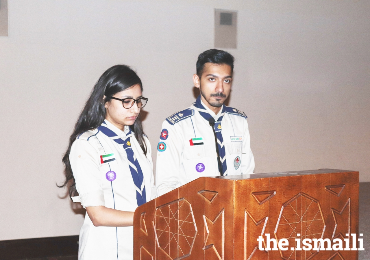 Ismaili Chief Scouts Day in the UAE