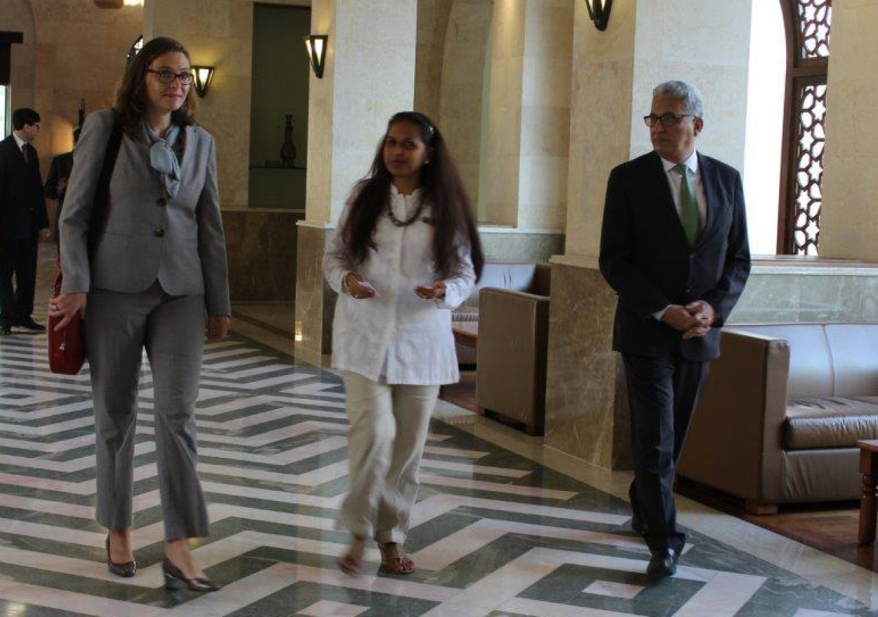 Her Excellency Merete Juhl Ambassador of Denmark to the UAE. Ismaili Council for UAE