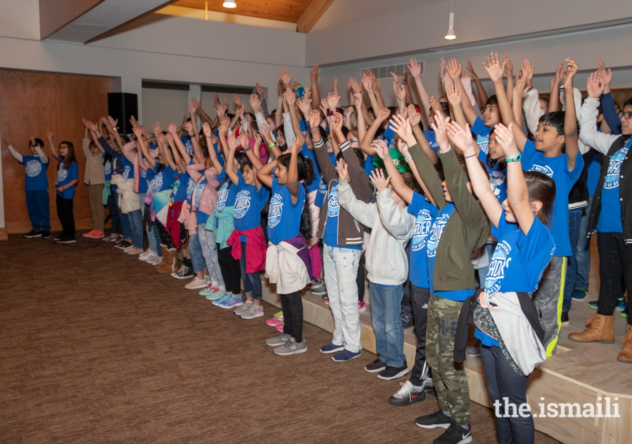 Over 600 students from various schools in the greater Houston area visited the Ismaili Jamatkhana and Center and several schools put on holiday-themed performances.