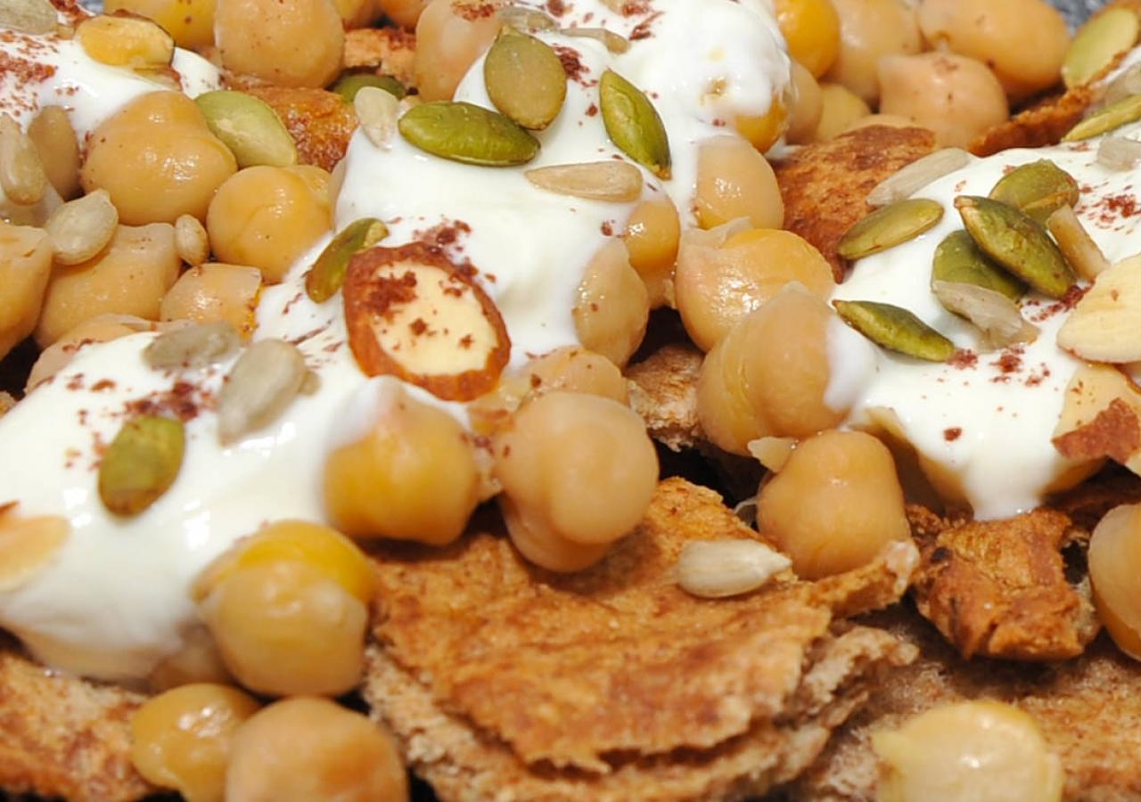 Syrian Fateh Salad