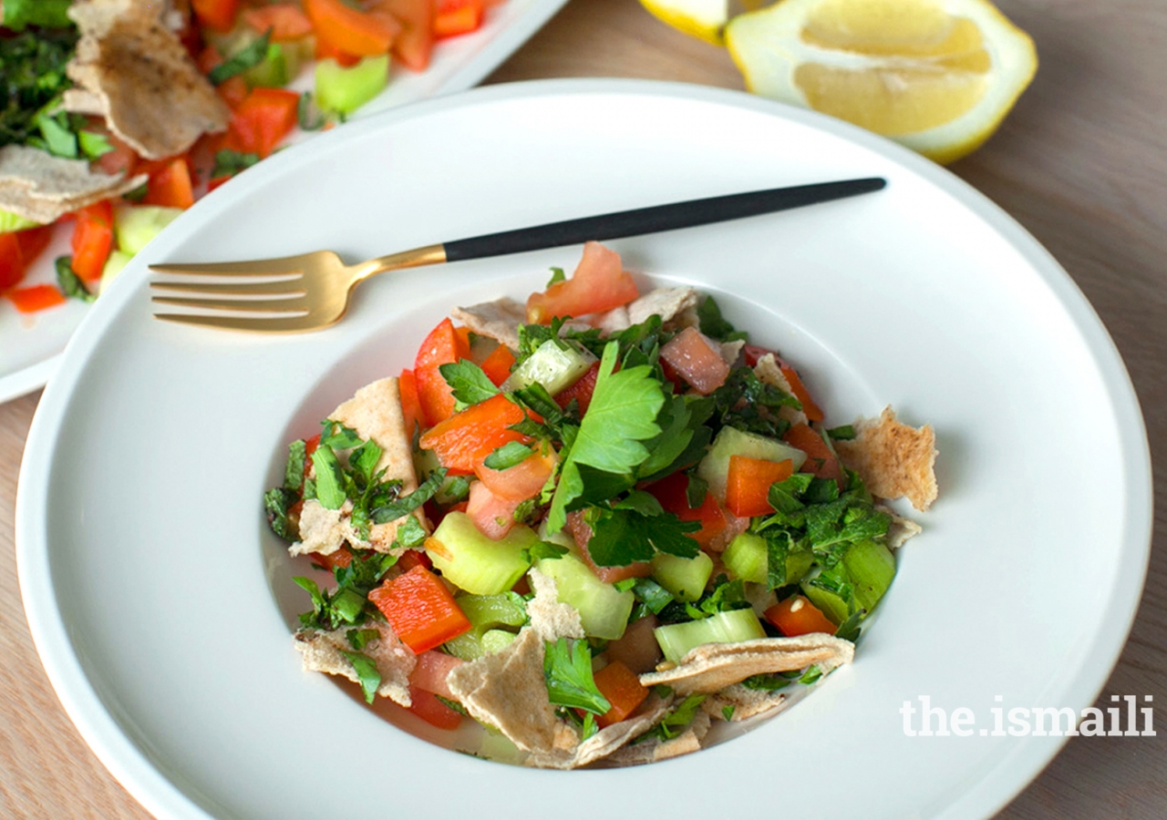Syrian Fatoush Salad