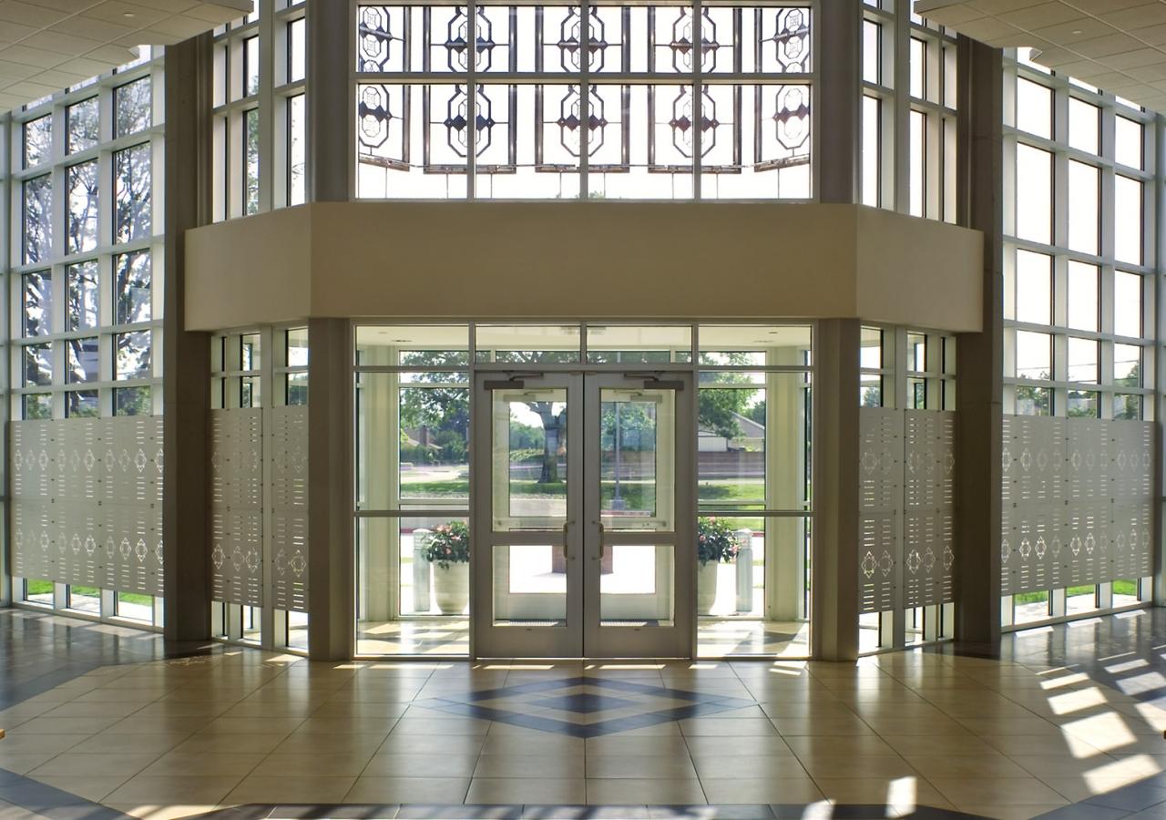 The Lobby of the Jamatkhana