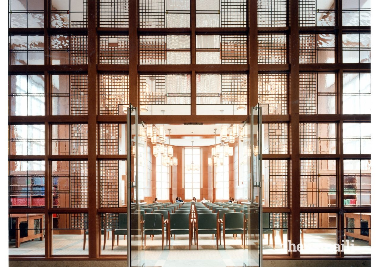 Smith Hall (interior), College of the Holy Cross, Massachusetts. Project Team member, Khalil Pirani.