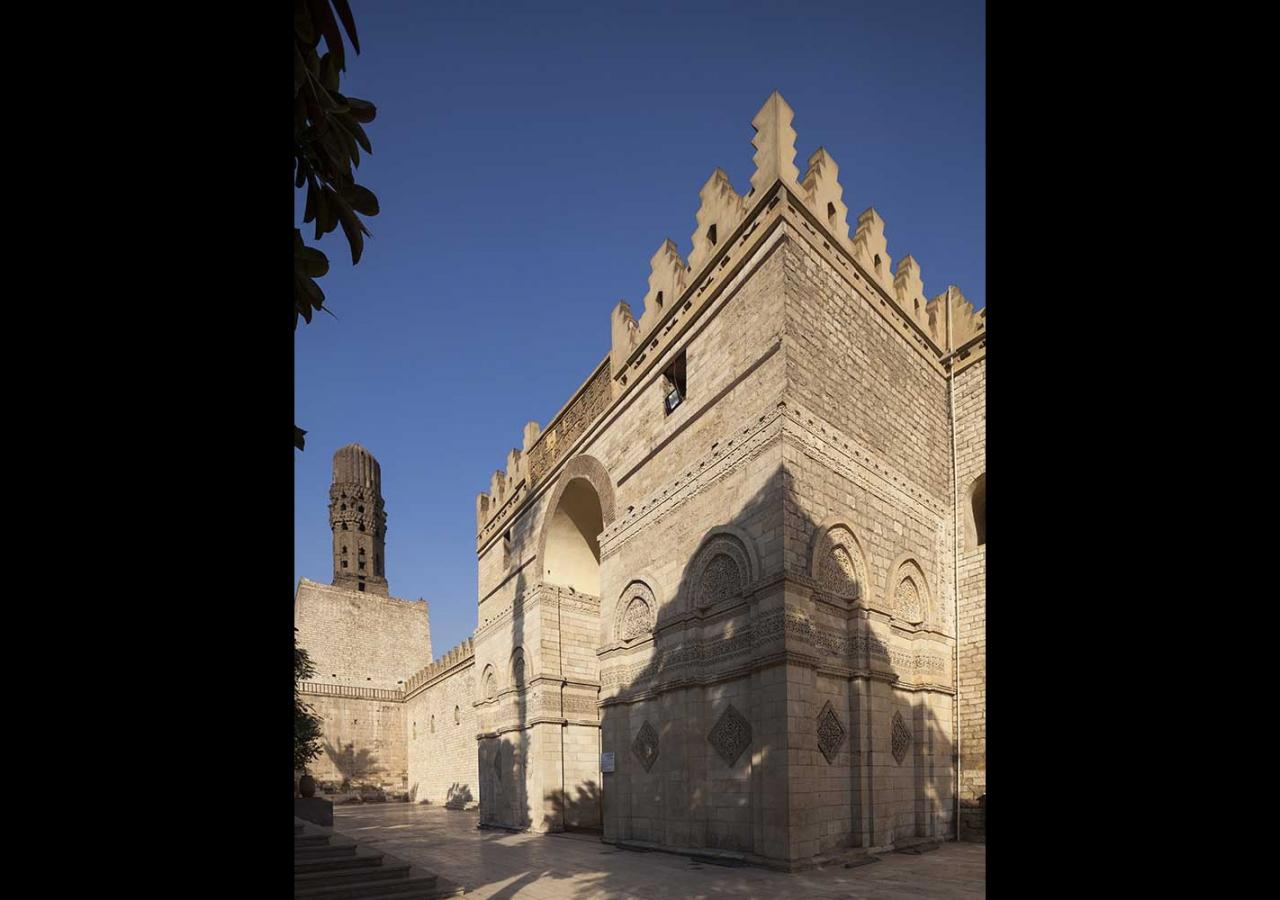 The entrance facade of the mosque of al-Hakim. Bernard O'Kane