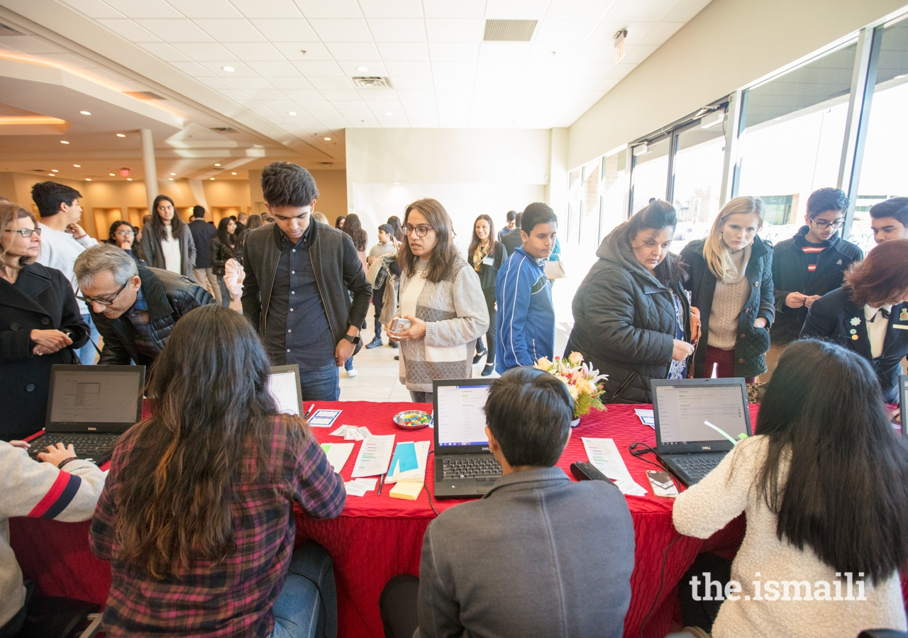 Over 200 parents and youth from metro Atlanta attended the Ivy League Connect, held at the Ismaili Jamatkhana in Norcross, GA.