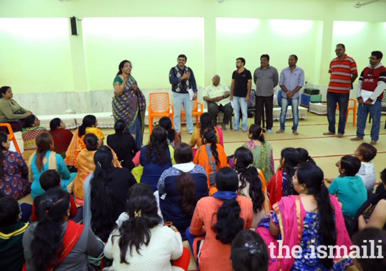 Celebration of Hostel day at Aga Khan Hostel, Hyderabad