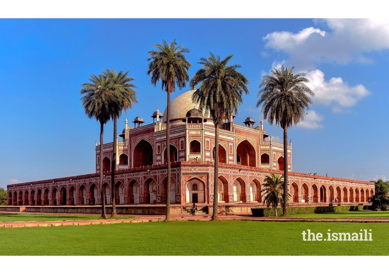 Delhi's Humayun's Tomb, restored by the Aga Khan Trust for Culture (AKTC).