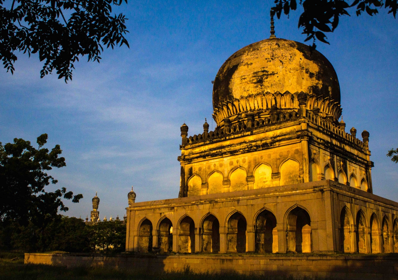 The Qutb Shahi Tombs in Hyderabad, India (2016). Shafin Lakhani