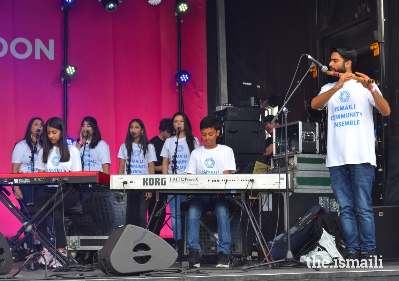 For the London Eid Festival, Trafalgar Square is transformed into a spectacular, colourful festival of live music, dance, and spoken word poetry.