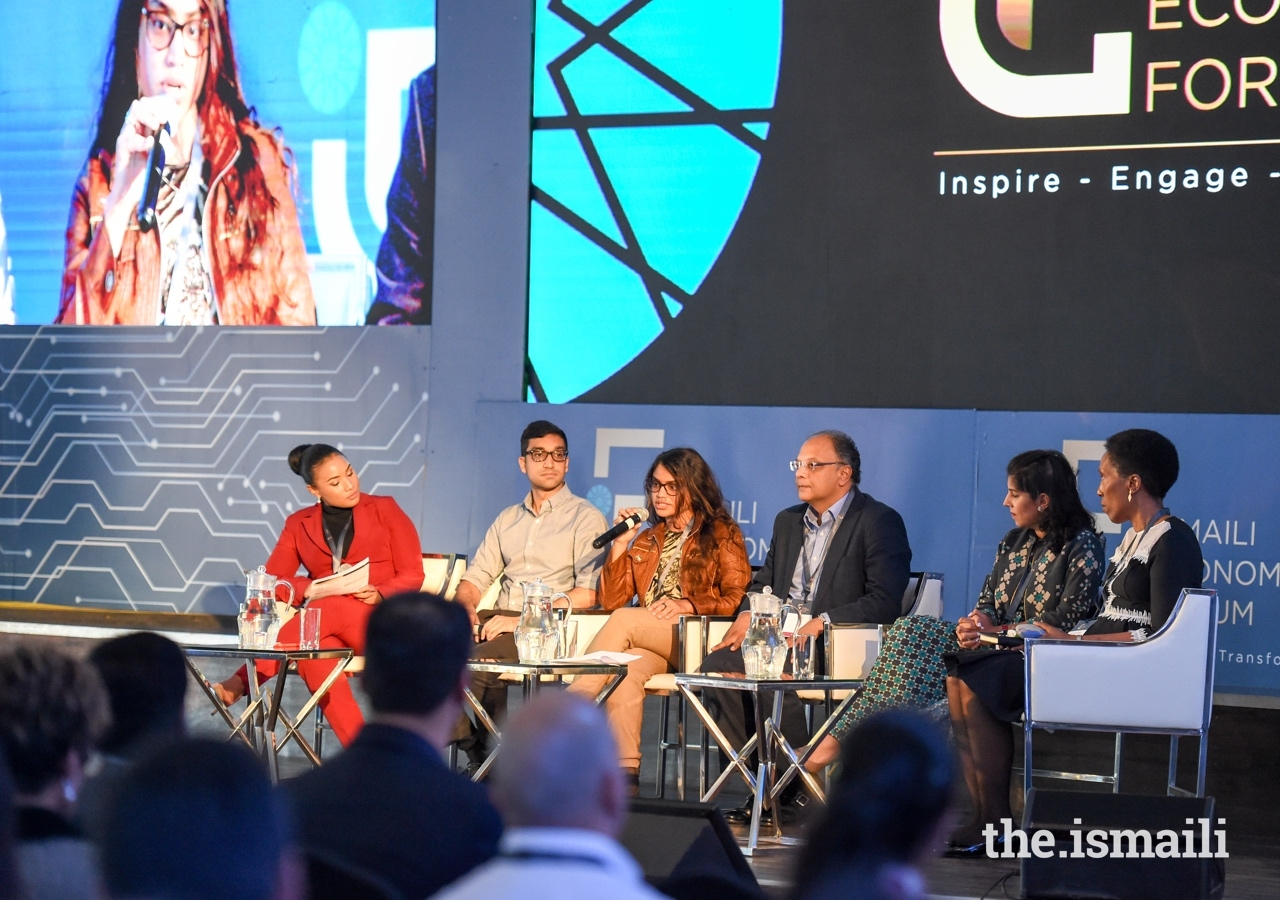 A series of inspiring presentations at the Ismaili Economic Forum included real life stories and experiences which demonstrated the importance of collaboration, engagement, investment, partnerships, and learning.