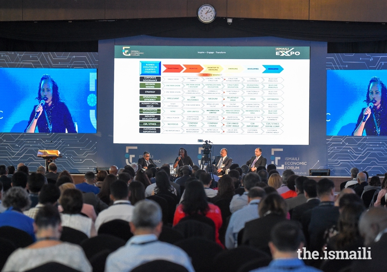 Positive developments at the Ismaili Economic Forum included collaborative efforts by businesses to further women's empowerment and financial literacy to prepare women for corporate board participation.