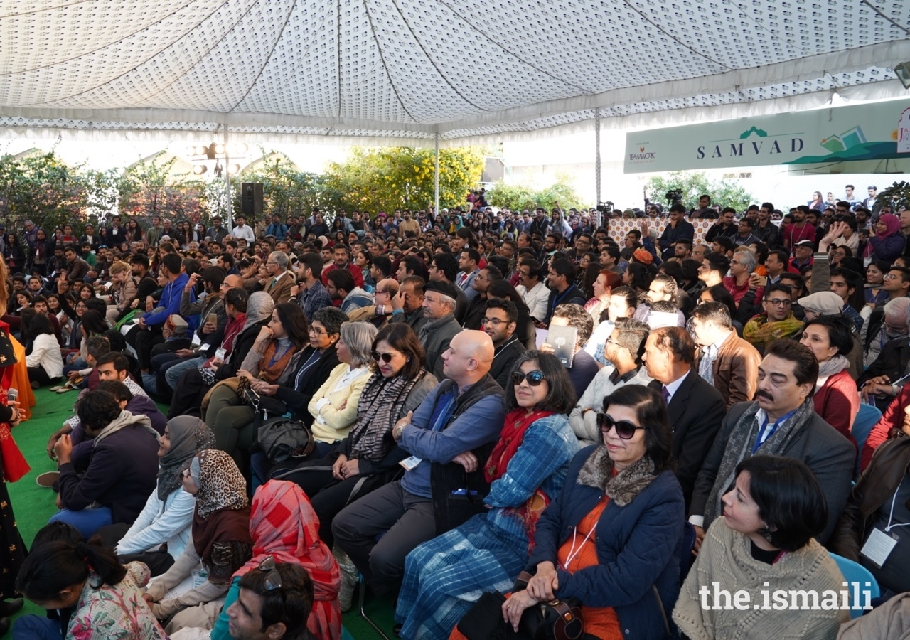 A large crowd turned out to attend the panel discussion entitled Islam: Multiple Histories, hosted by The Institute of Ismaili Studies and the Aga Khan Foundation UK.