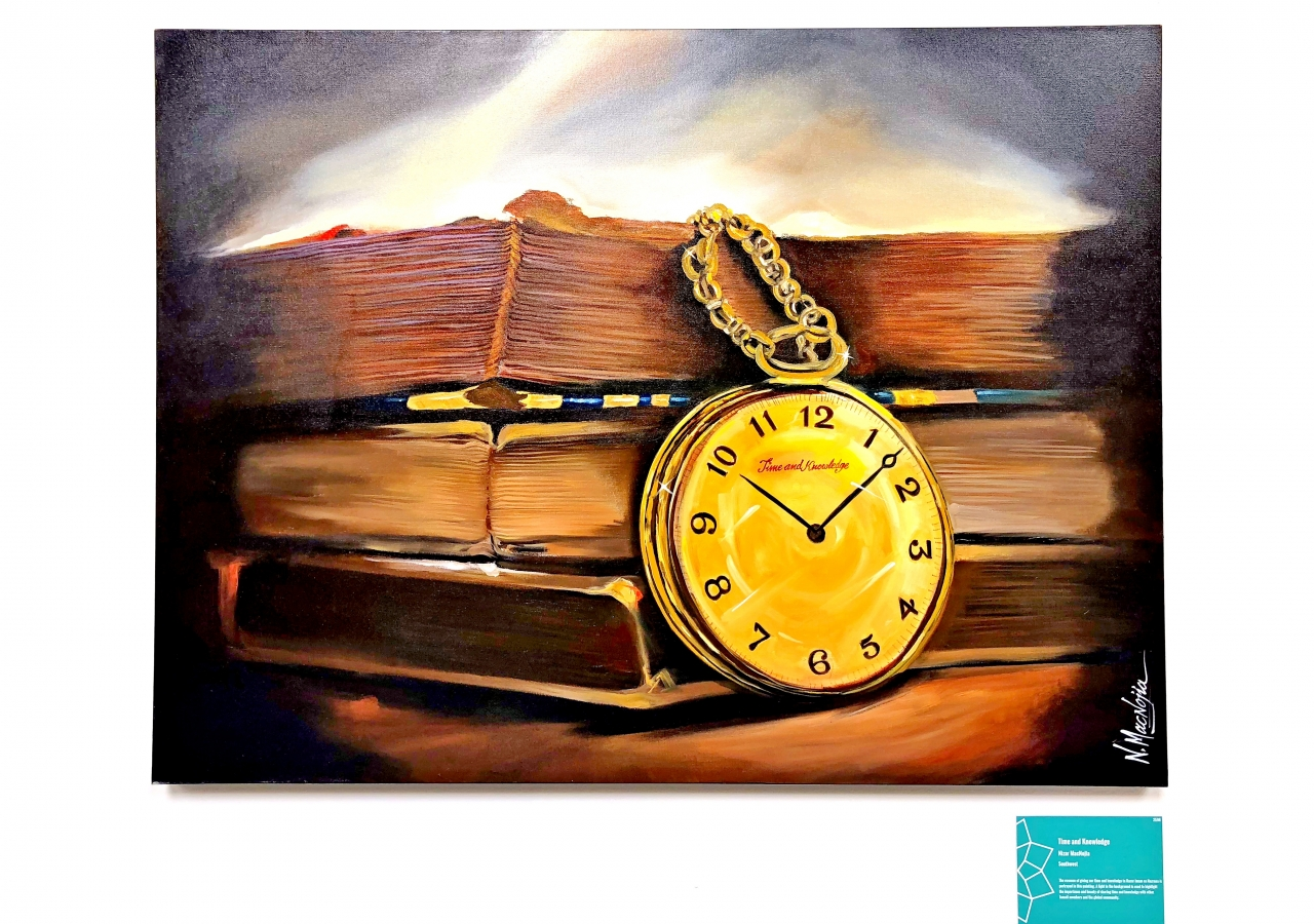 """Time and Knowledge"" by Nizar MacNojia"