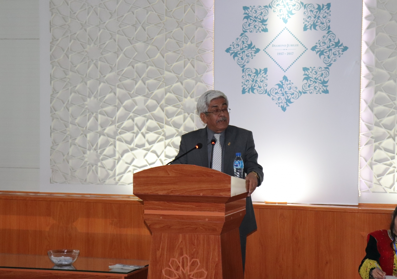 President of the Ismaili Council for Afghanistan, Mir Ahmad Joyenda delivered speeches on the importance of compassion, fairness, and justice in Islam, and called for all attendees to focus on education as a means to empowerment.