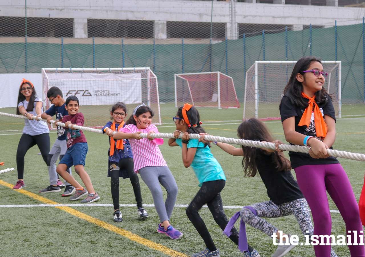 In addition to many indoor activities, the participants went outdoors to realize the important of physical activities in our lives