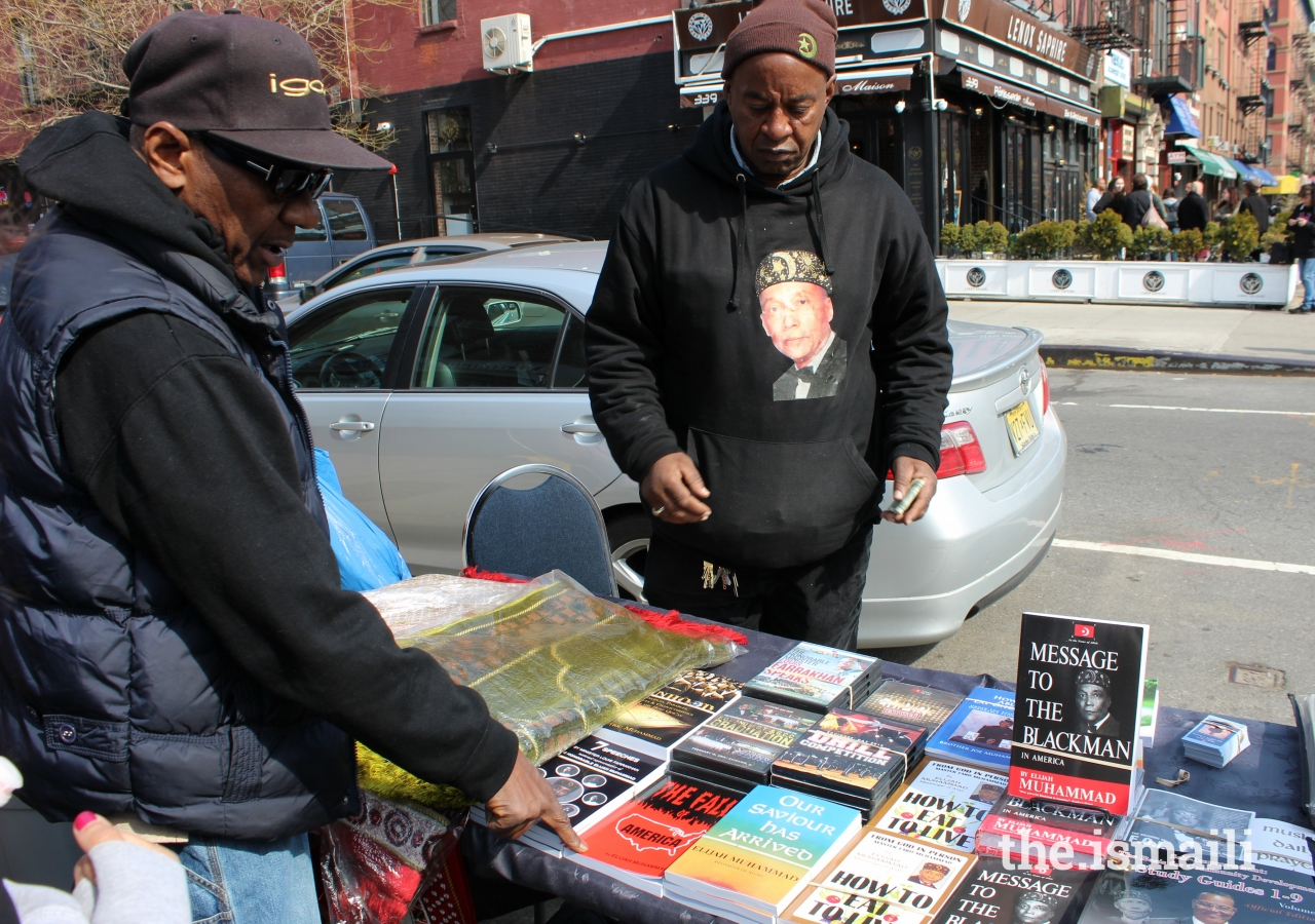 The history of Islam in Harlem is lined with notable figures who encouraged knowledge and education. Lewis Michaux, a Harlem Bookseller and civil rights activist, started an infamous yet now absent African National Memorial Bookstore frequented by intellectuals like Malcolm X, importing books from all over the world for more than four decades.