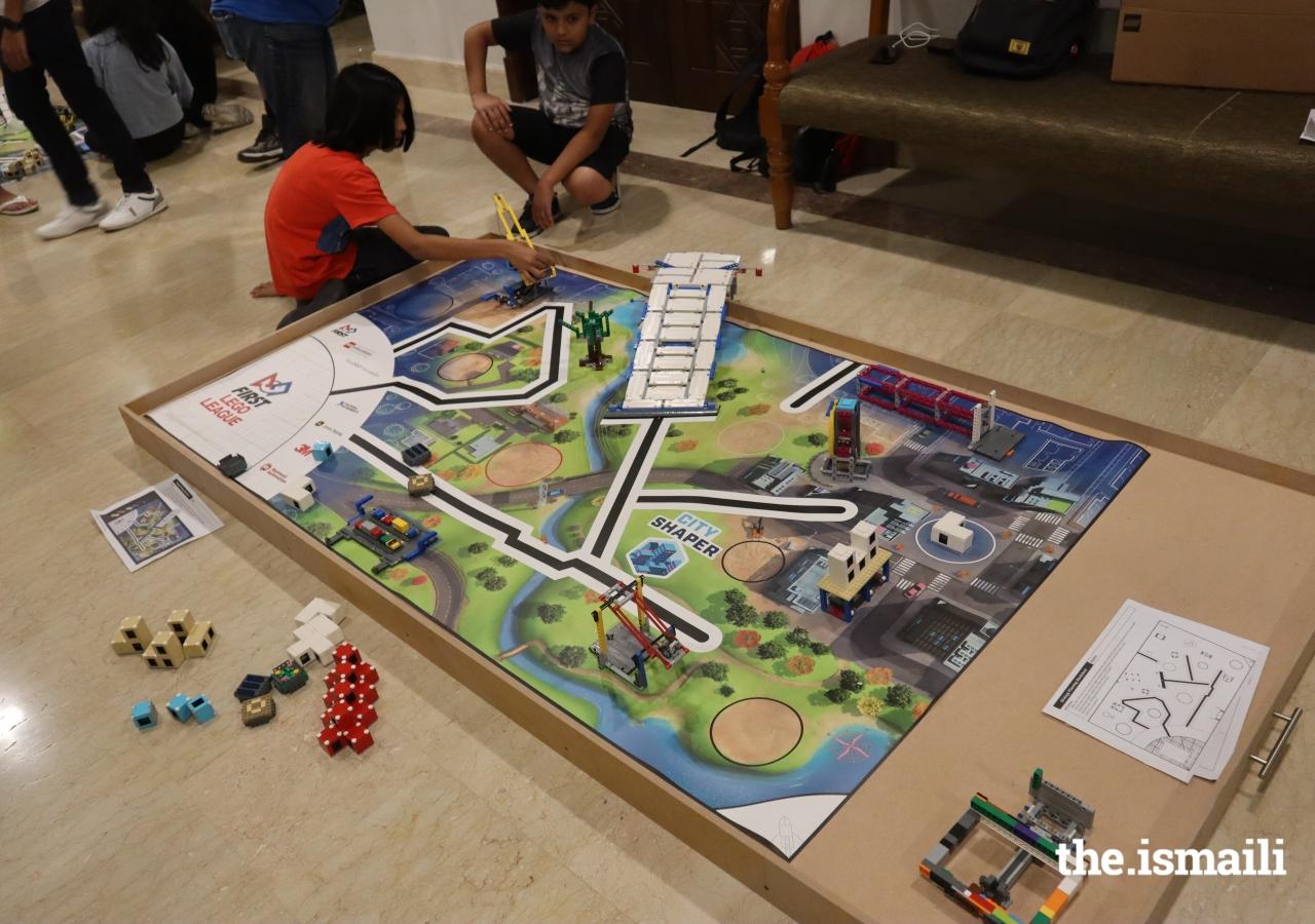 City shaper challenge mat is complete