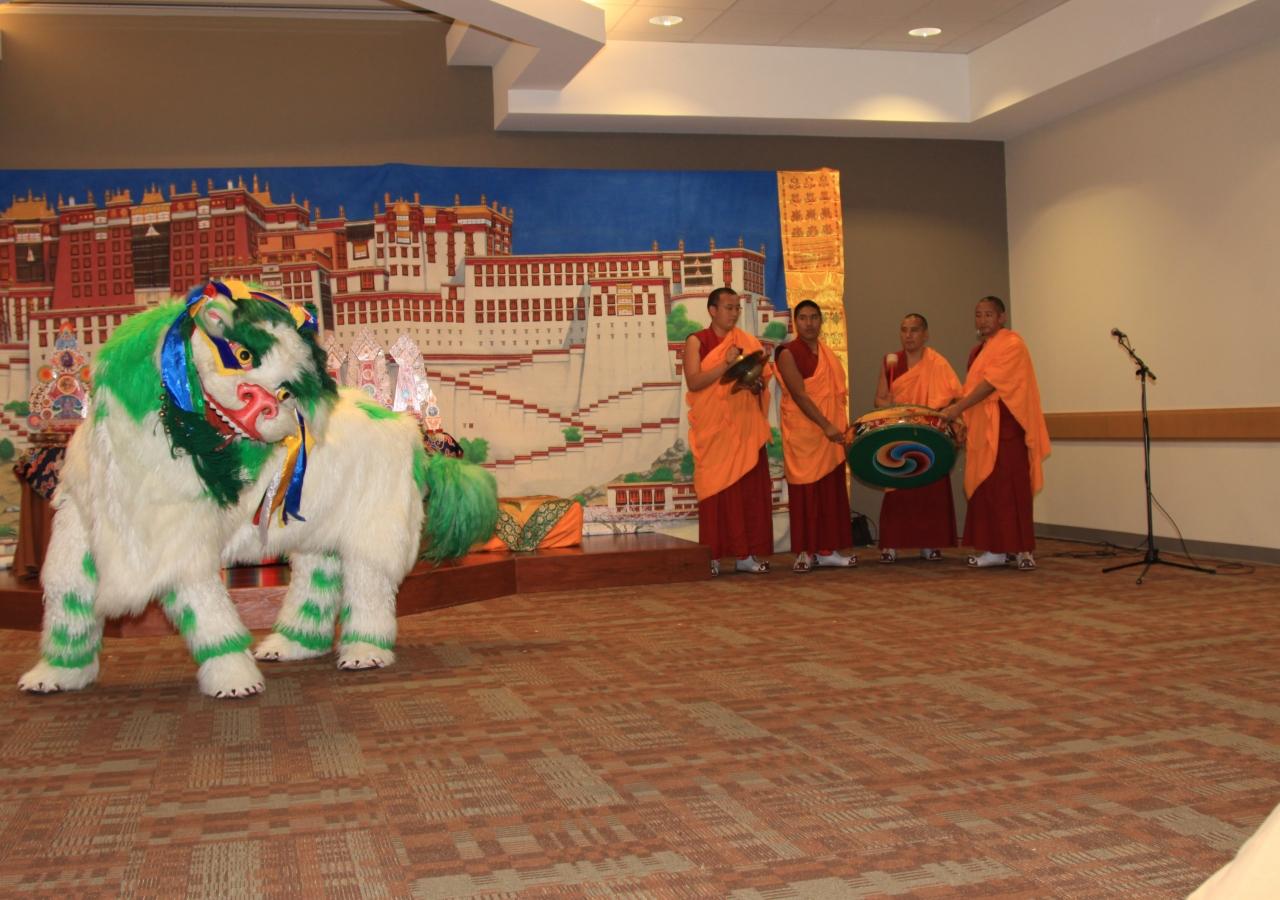 Monks Perform Sacred Music Sacred Dance at Plano Jamatkhana