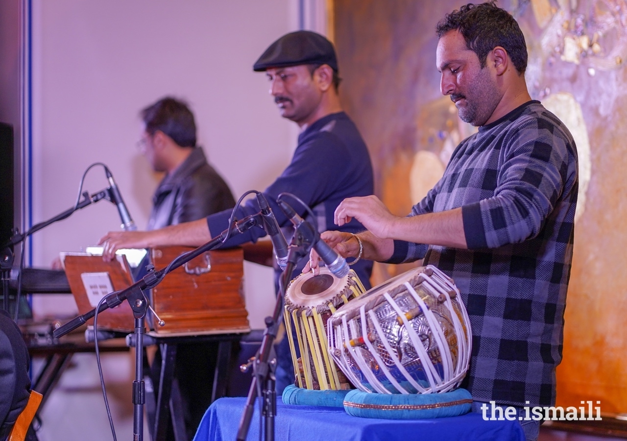 The ensemble weaved together a selection of well-known qawwali, original compositions, poems, and stories from a variety of cultural traditions.