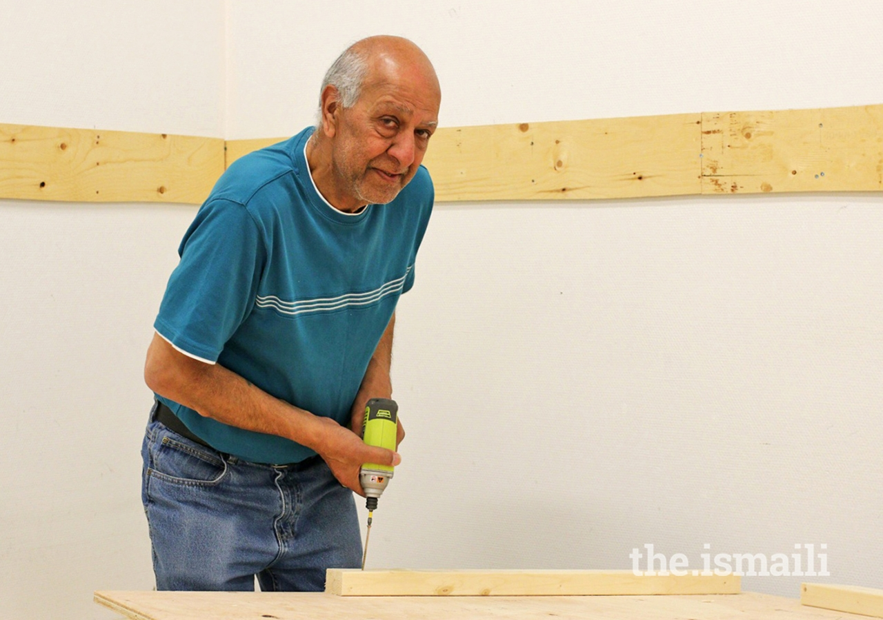 Ismail Nanji has been part of the building team for Deedars since 1978.