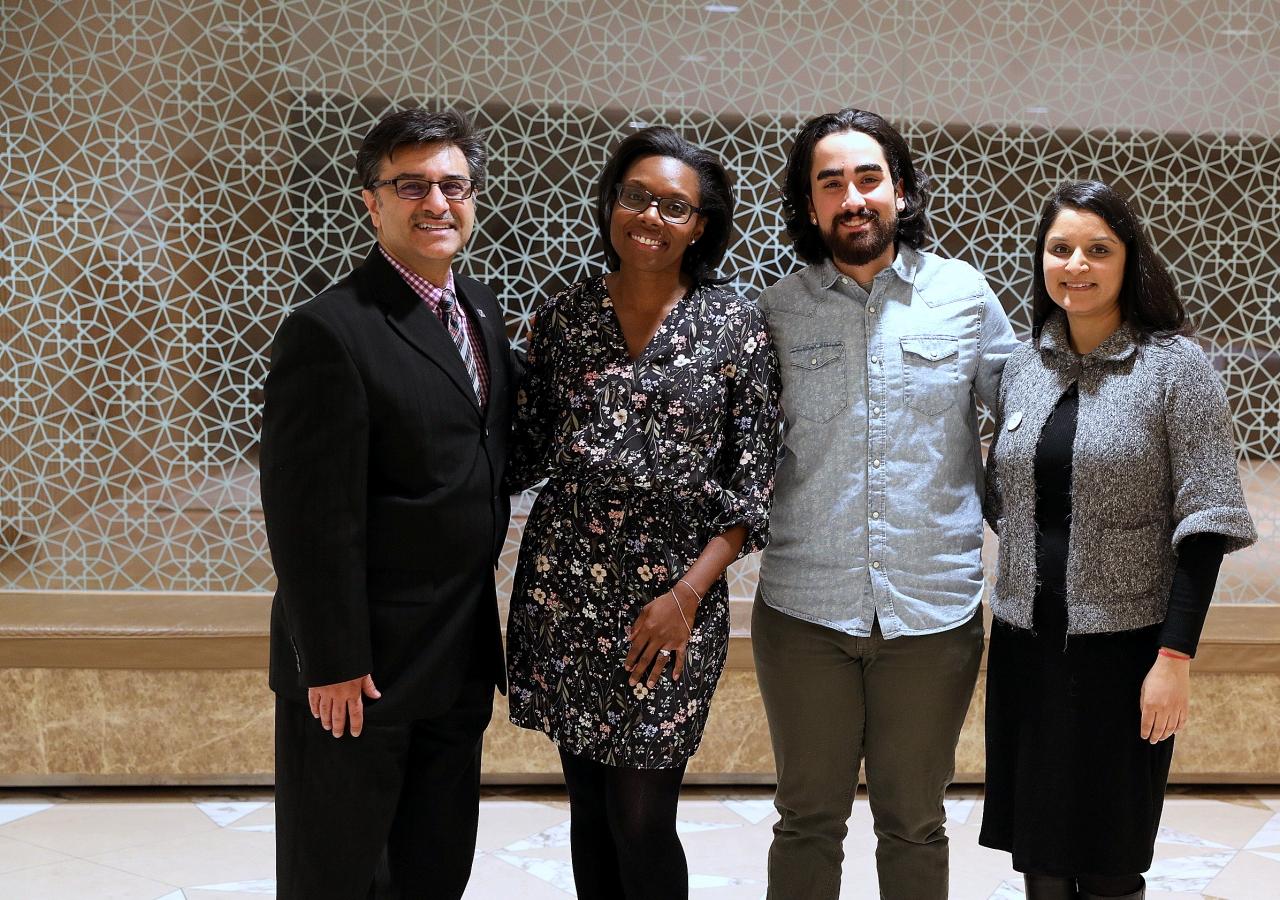 (Left to Right): Moderator Karim Mamdani, CEO, Ontario Shores, with speakers Tammie Sutherland, Shayan Yazdanpanah and Dr. Gursharan Virdee