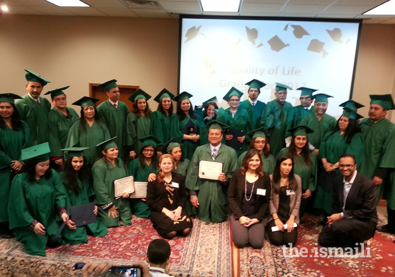 Kansas City GED graduation ceremony.