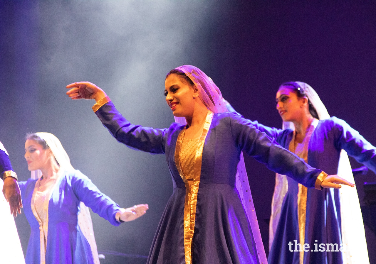 Dancers perform during the Rihla performance in Vancouver.