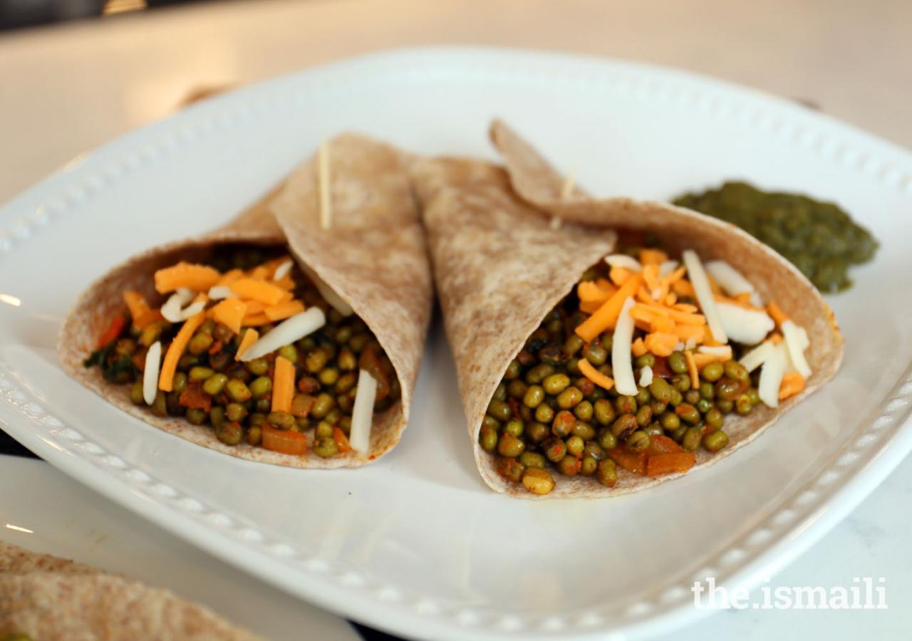 Spicy Moong Burrito