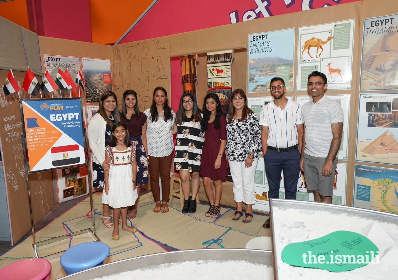 Ismaili Council for the Southeastern United States partnered with the Children's Museum of Atlanta for their inaugural United Nations of Play, an event that aims to expose young minds to international cultures through play.