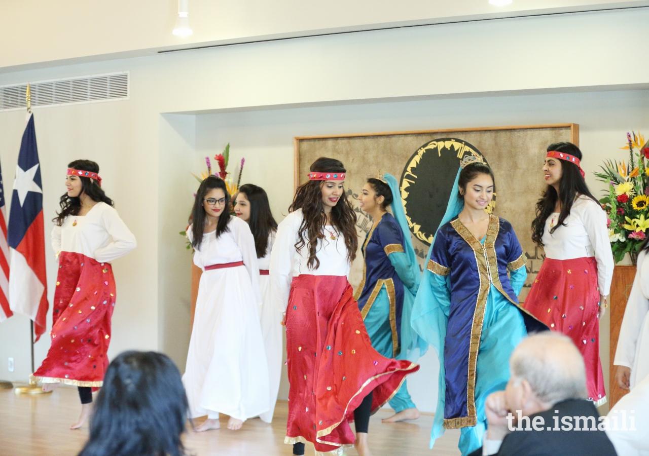 Dance performance showcasing the spirit of rejuvenation at the Navroz celebration.