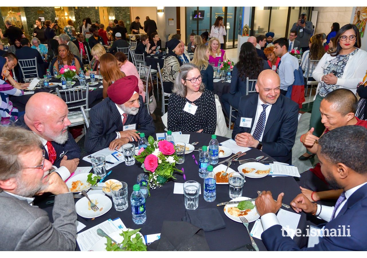 Civic Dinner conversations led by Host Committee member Bill Bolling.