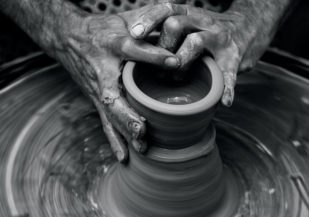 skills pottery