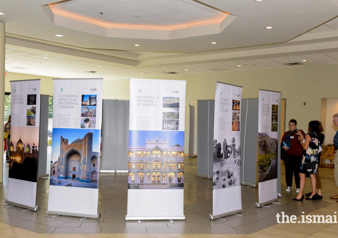 Historic Cities Program Exhibition at the Ismaili Jamatkhana in Norcross, Georgia.