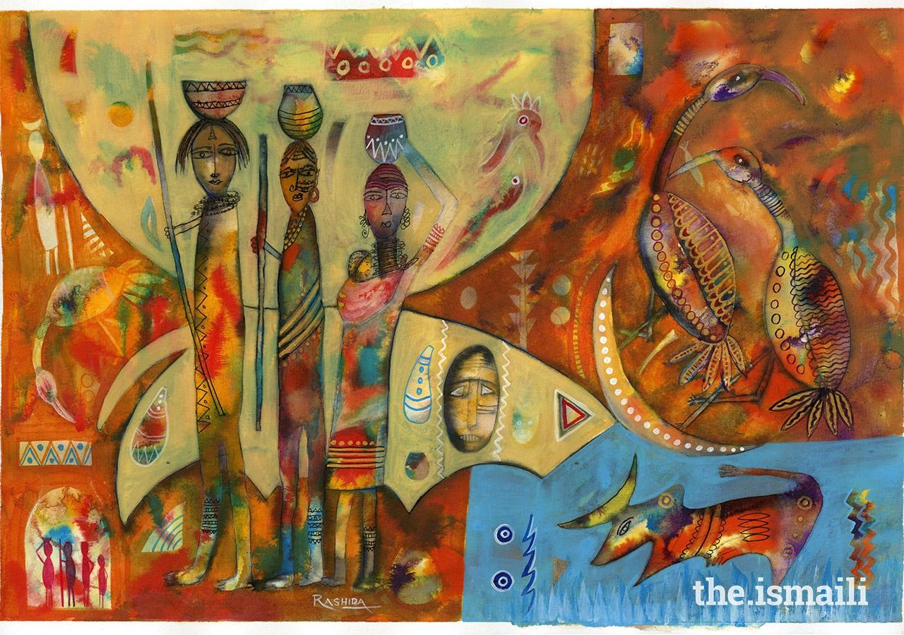 Moonstruck, by Rashida Alibhai