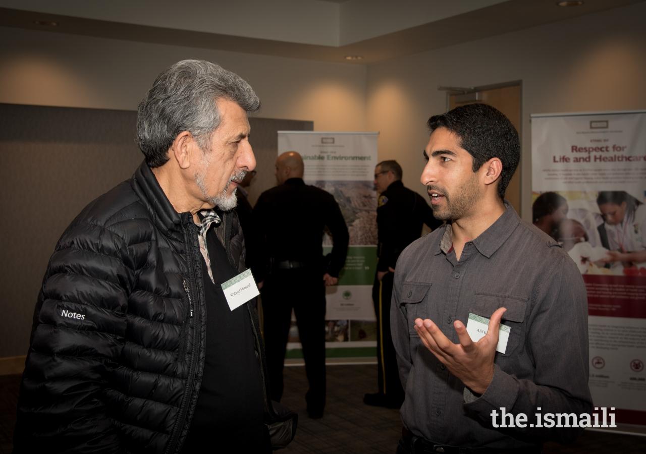 Dr. Walid with AKEB Chairman Alif Kalfan