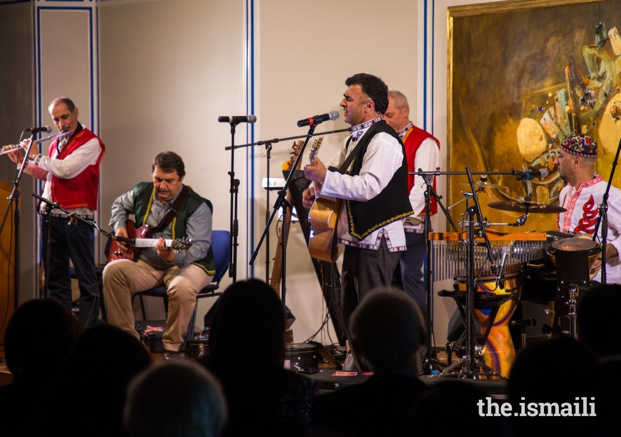 The Shams Band are known for their fusion of ancient music and poetry of the East with contemporary music of the West.