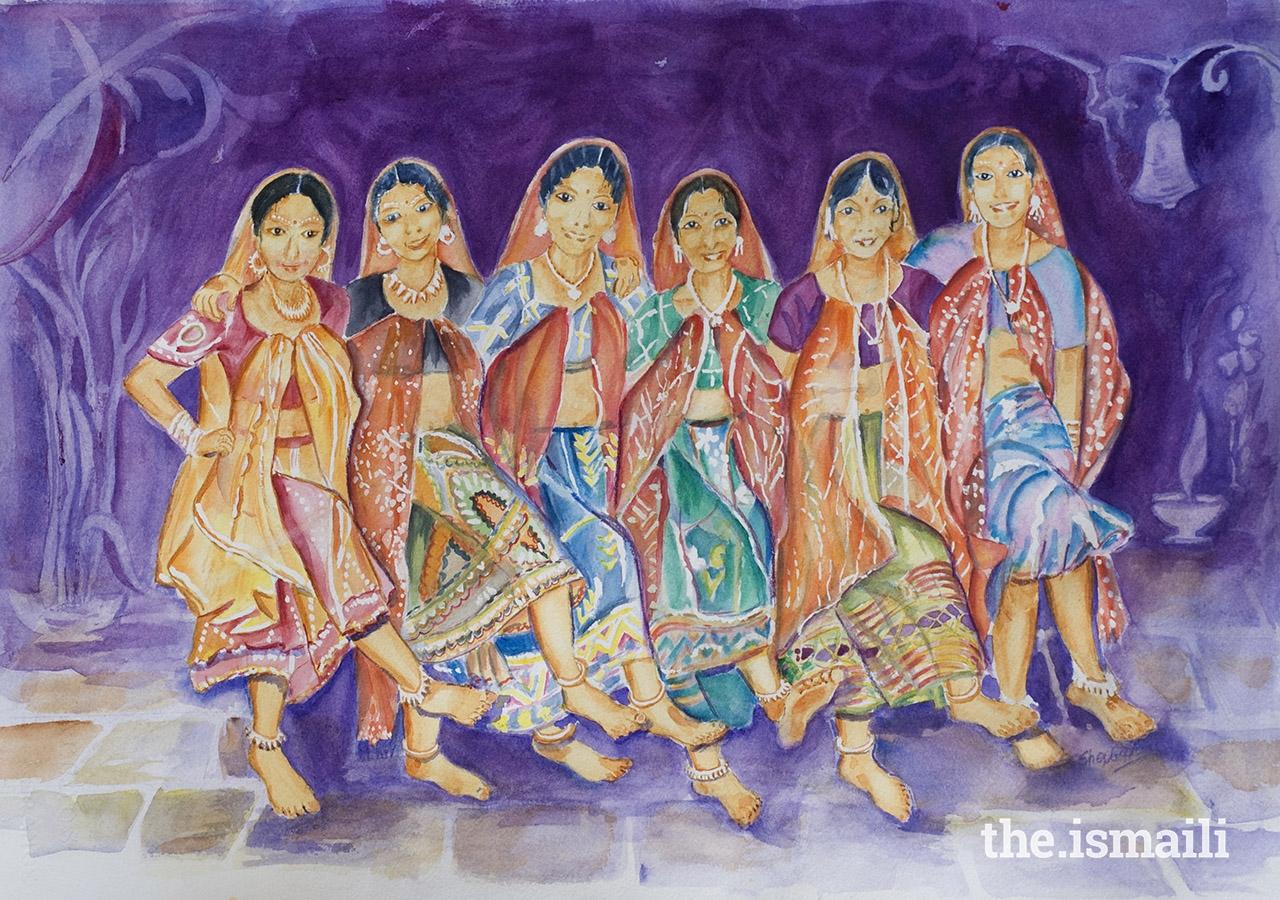 Dazzling Dancers of India, by Sherbanoo Aziz